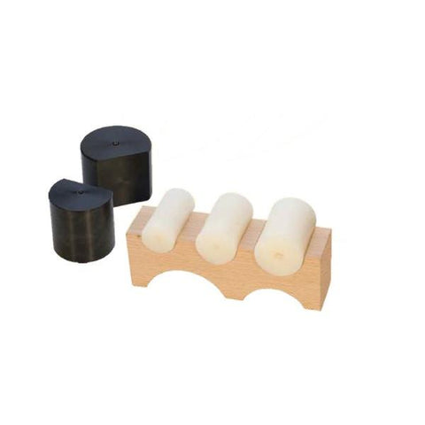 Wooden Forming and Shaping Block with Nylon Punches