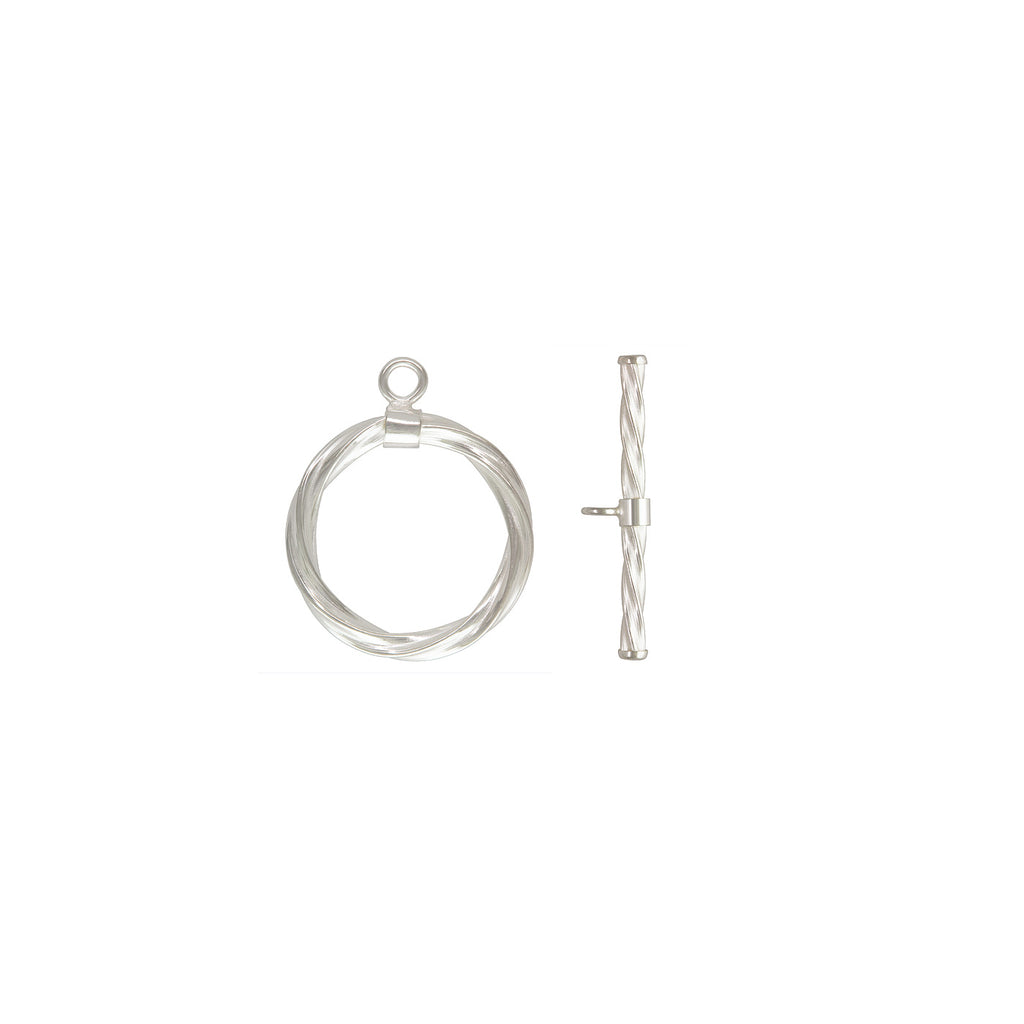 Toggle and T-Bar Clasp Set - Twist