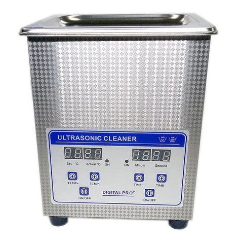 Digital Ultrasonic Cleaner (Heated) with Timer - 2 0L Capacity