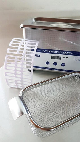 Digital Ultrasonic Cleaner (Unheated) with Timer - 800ml Capacity