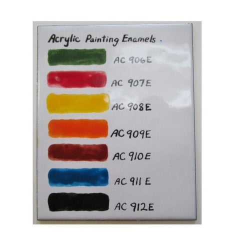 Vitreous Enamels & Accessories - Acrylic Enamel Paint