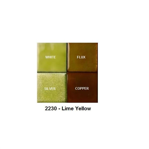 Vitreous Enamels & Accessories - Thompson Lead-Free Transparent Enamels - Yellow / Green Yellow