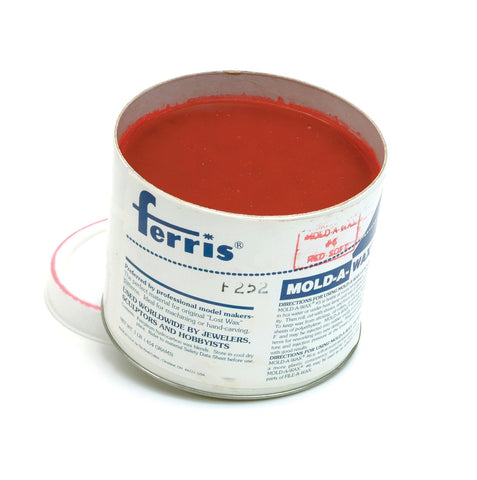 Ferris Mold-A-Wax Soft Red Sculpting Wax OUT OF STOCK