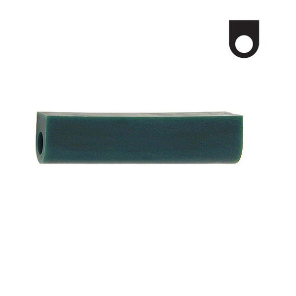 Ferris File-A-Wax Ring Tube - Green / T-250