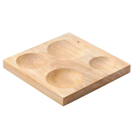 Extra Large Wooden Doming Plate