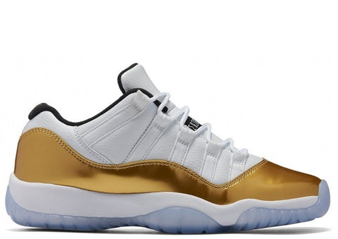 "Air Jordan 11 Low Retro Metallic Gold ""Closing Ceremony"" Men's 2016"