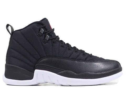 "Air Jordan 12 Retro Black Nylon ""Neoprene"" GS 2016"