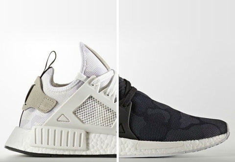 "Adidas NMD XR1 ""Black/ White Camo"" Pack Men's 2016"