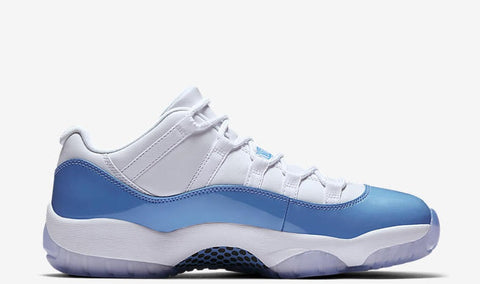 "Air Jordan 11 Low Retro University Blue ""Columbia"" GS 2017"