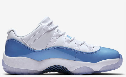 "Air Jordan 11 Low Retro University Blue ""Columbia"" Men's 2017"