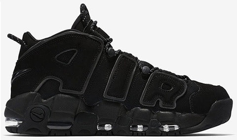 "Nike Air More Uptempo ""Triple Black"" Men's 2017"
