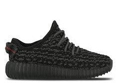 "Adidas Yeezy Boost 350 Low ""Black Pirate"" Infant 2016"