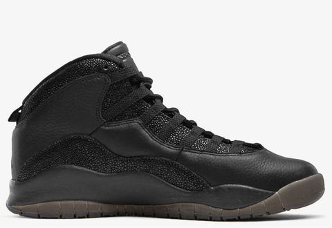 Air Jordan 10 Retro OVO Black Men's 2016