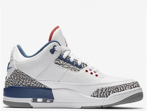 "Air Jordan 3 Retro 88 ""True Blue"" Men's 2016"