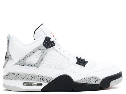 "Air Jordan 4 Retro OG ""White Cement"" Men's 2016"