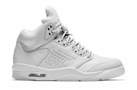 "Air Jordan 5 Retro PRM ""Pure Platinum"" Men's 2017"