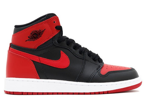 "Air Jordan 1 High Retro OG ""Bred / Banned"" GS 2016"