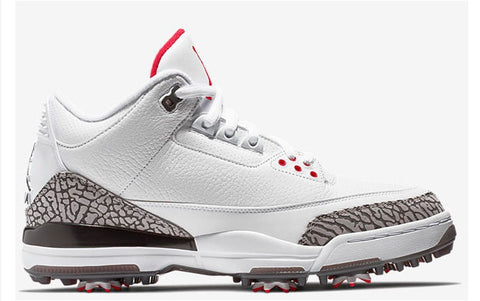 "Air Jordan 3 Retro Golf ""White Cement"" Men's 2018"