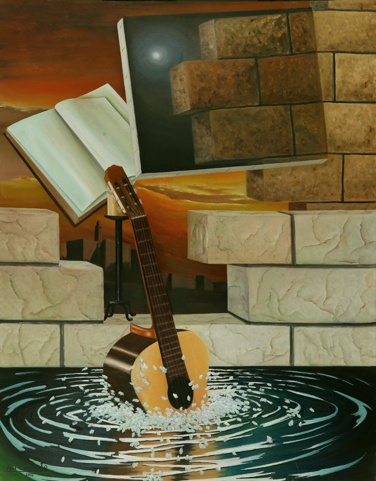 Guitar - Original Painting