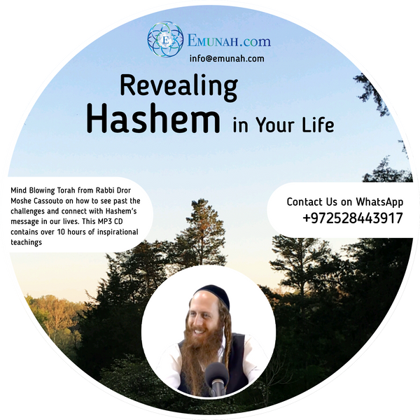 Revealing Hashem In Your Life