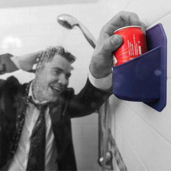 Shower Beer Holder | Grey