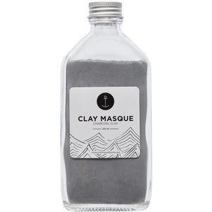 Activated Charcoal Clay Masque - 200ml