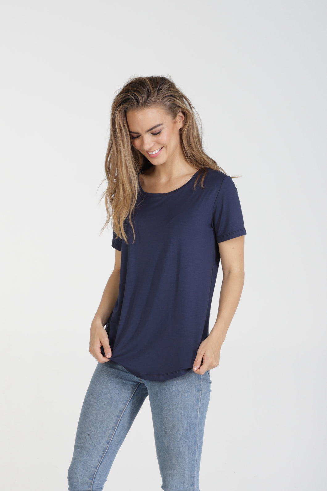 Women's Crew Neck Tee by Naked Store