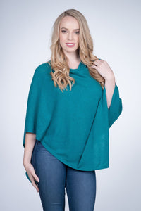 Cashmere Wrap - Emerald Green