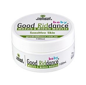 Baby Good Riddance Mozzie & Midgie Mousse® Tub 100ml