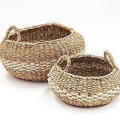 Koli Striped Basket SM