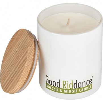 Good Riddance Mozzie & Midgie Soy Candle Glass Jar