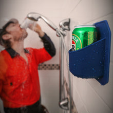 Load image into Gallery viewer, Shower Beer Holder | Navy