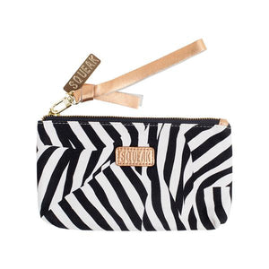 ZEBRA POUCH by Squeak Design