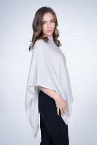 Cashmere Wrap - French Grey