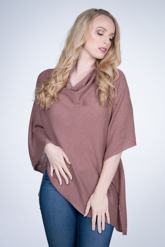 Cashmere Wrap - Rosewood