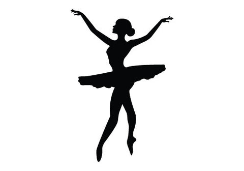 Free dancing silhouette vector clipart