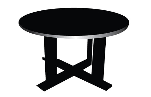 Table silhouette vectors