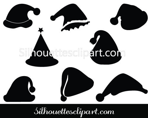Christmas Hat Vector Graphics Pack