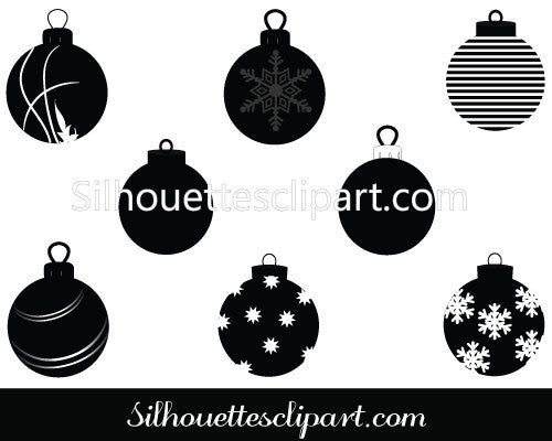Christmas Ornament Vector Graphics