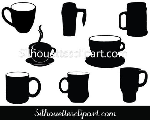 Coffee Mug Silhouette