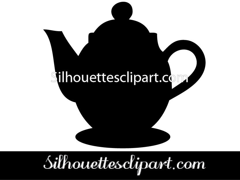 Coffee Port Silhouette Vector