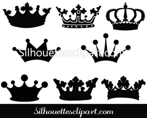 Crown Clip Art Pack