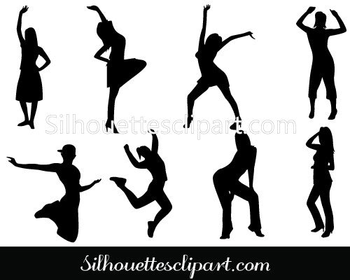 Dance Party Clip Art pack