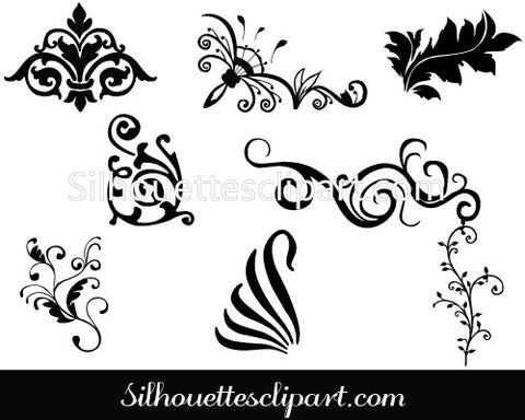 Line Art Decorative Frames