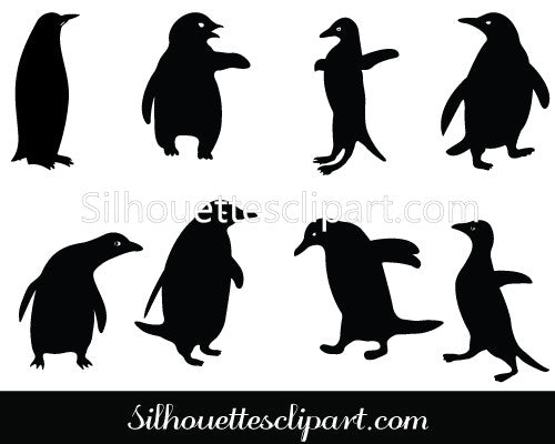 Penguin Vector Pack