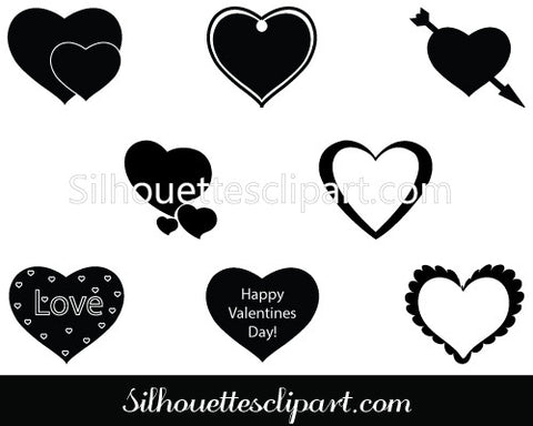 Valentine's day Clip Art Pack