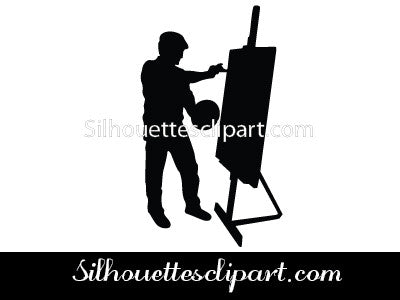 Artist Painter Vector Graphics