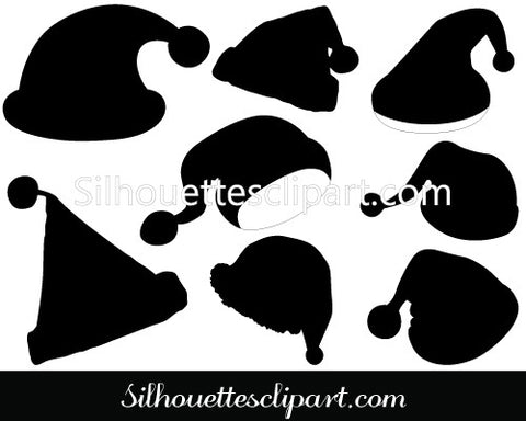 Christmas Cap Vector Graphics