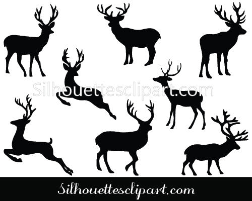 Deer Vector Graphics