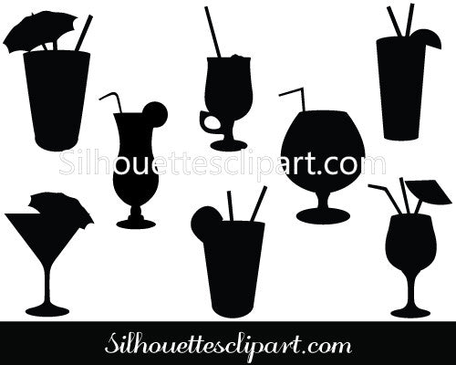 Drinks Vector Graphics